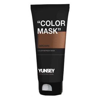 Color Mask brown